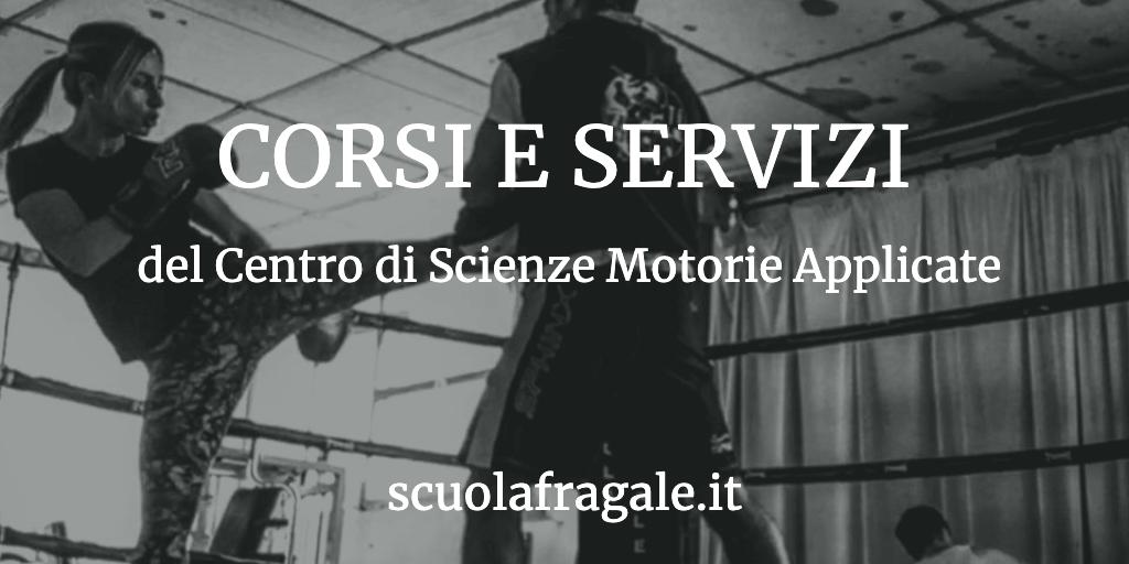 Corsi e Servizi Scienze Motorie Applicate Pisa